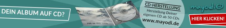 mayodi CD-Herstellung Banner Leaderboard (728 x 90)