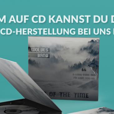 AB SOFORT: Ratenzahlung bei deiner CD-Herstellung