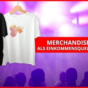 Merchandise-Artikel als Einkommensquelle für Musiker